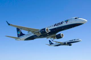 Azul transporta 750 mil passageiros nos voos de Confins