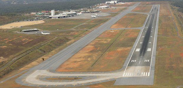 Voos não serão interrompidos durante as obras na pista do Aeroporto de Confins