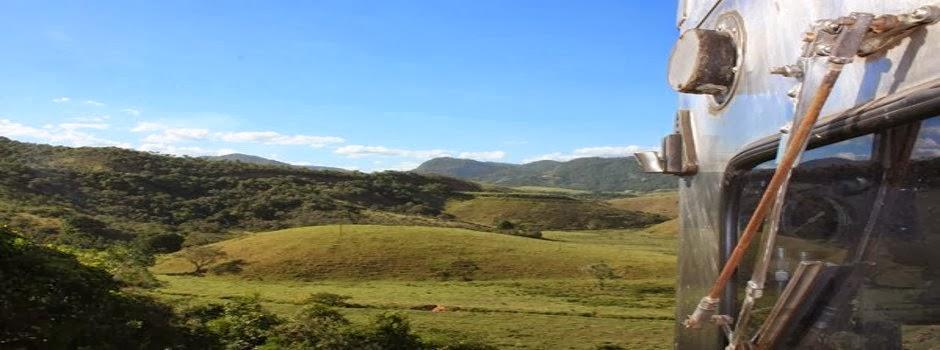 Além das Montanhas! Trem trafega por quatro localidades do Espírito Santo