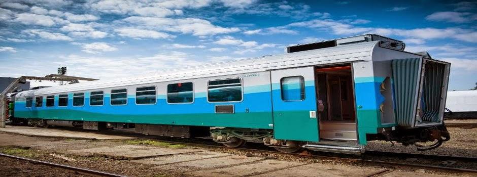 Ainda há passagens para a primeira viagem do trem de luxo da Vale. Acesse aqui o vídeo dos novos vagões