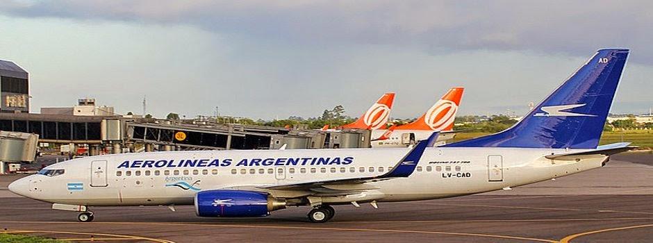 Gol inicia venda das passagens dos voos da Aerolíneas Argentinas