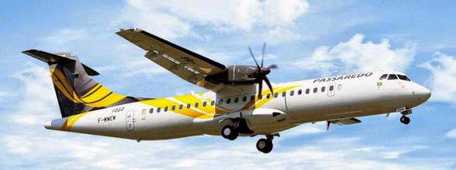 Passagem de voo da Passaredo é mais barata se a compra for feita no site da TAM