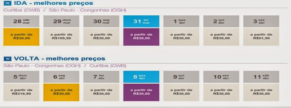 Companhias melhoram as promoções e lançam passagens a partir de R$ 30