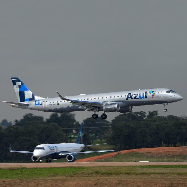 Santos Dumont terá voos diretos da Azul para Campo Grande e  Campos dos Goytacazes