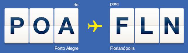 Azul vende a partir de R$ 57,90 as passagens dos voos diretos de Florianópolis para Porto Alegre