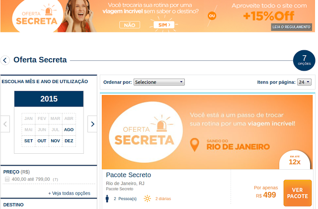 Oferta secreta! Pacotes internacionais com passagens aéreas e hospedagem por R$ 499
