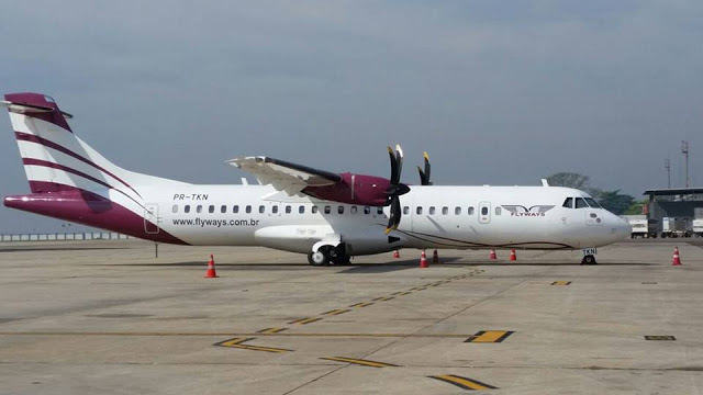 Primeiro voo da Flyways será no dia 28 de dezembro do Galeão para a Pampulha