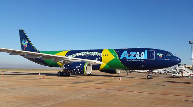 Recife vai ganhar voos da Azul para 12 cidades. Frequência diária para Campinas será no A330