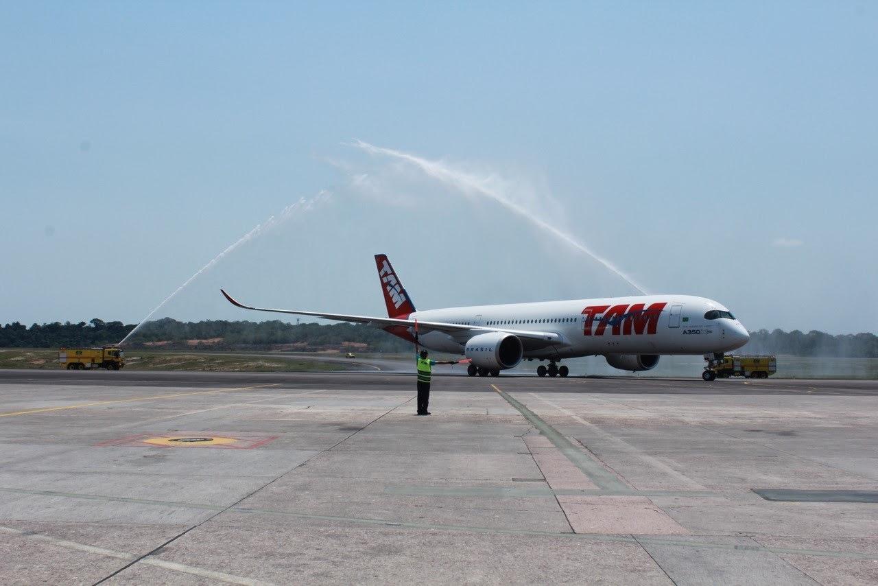 TAM começa a vender as passagens dos voos de São Paulo para Miami que serão operados no Airbus A350 XWB