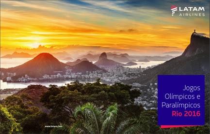 Passagens aéreas a partir de R$ 74 para viagem durante as Olimpíadas do Rio de Janeiro