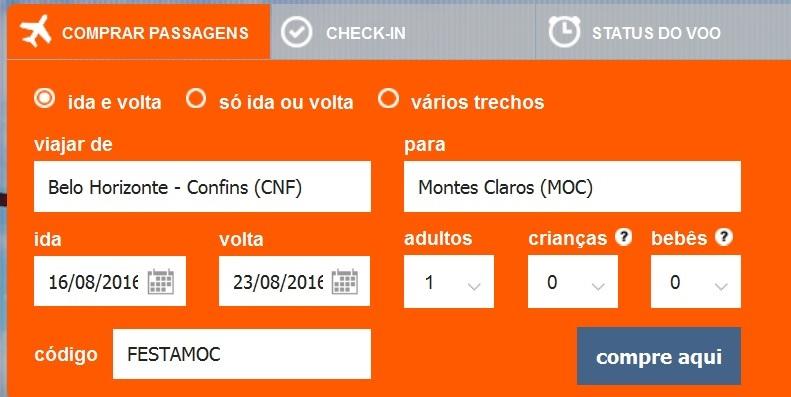 Cotação de preços de passagens aéreas