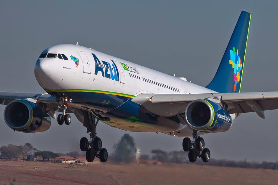 Airbus A330 da Azul será usado nos voos de Campinas para o Galeão