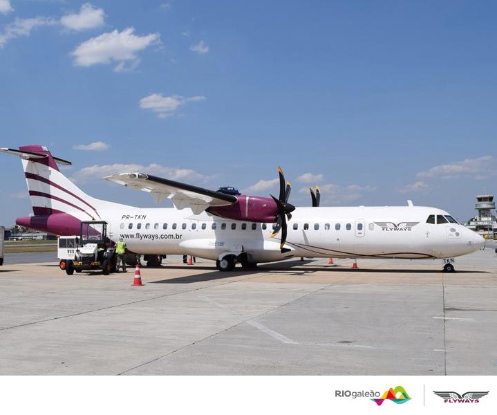 Flyways vende por R$ 149 passagens dos novos voos do Santos Dumont para Belo Horizonte