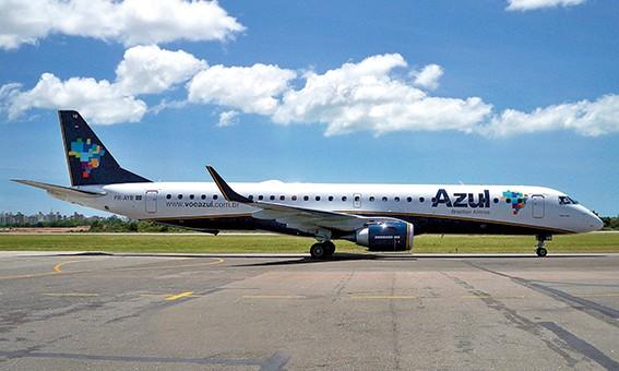 Veja como foi o 1° voo da Azul para Porto Seguro depois de 4 meses; assista vídeo