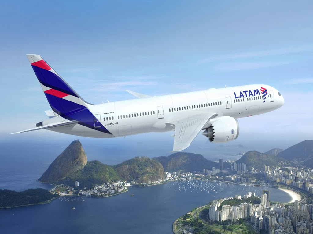 LATAM inicia a venda das passagens dos voos diretos do Galeão para Orlando