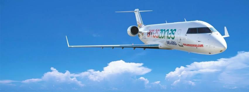 Amaszonas recebe autorização da ANAC para operar voos internacionais para o Brasil
