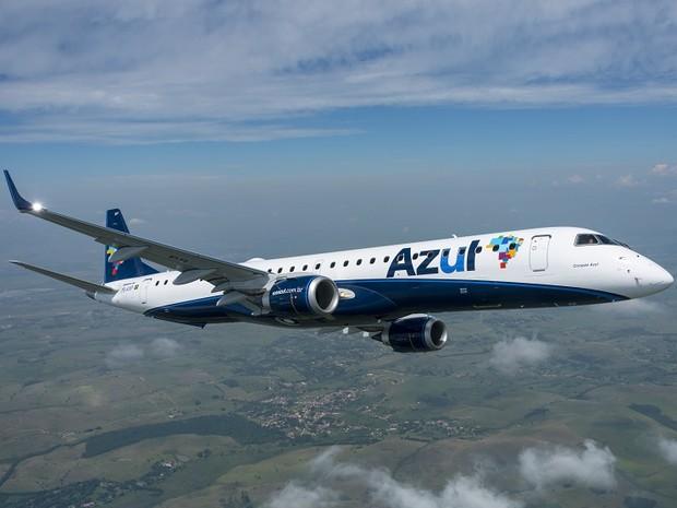 Azul inicia a venda das passagens dos voos sem escalas do Galeão para Recife