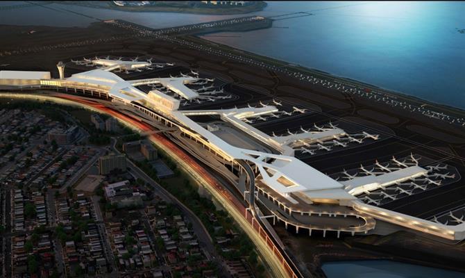 Delta inicia construção de novo terminal em Nova Iorque que terá 37 portões