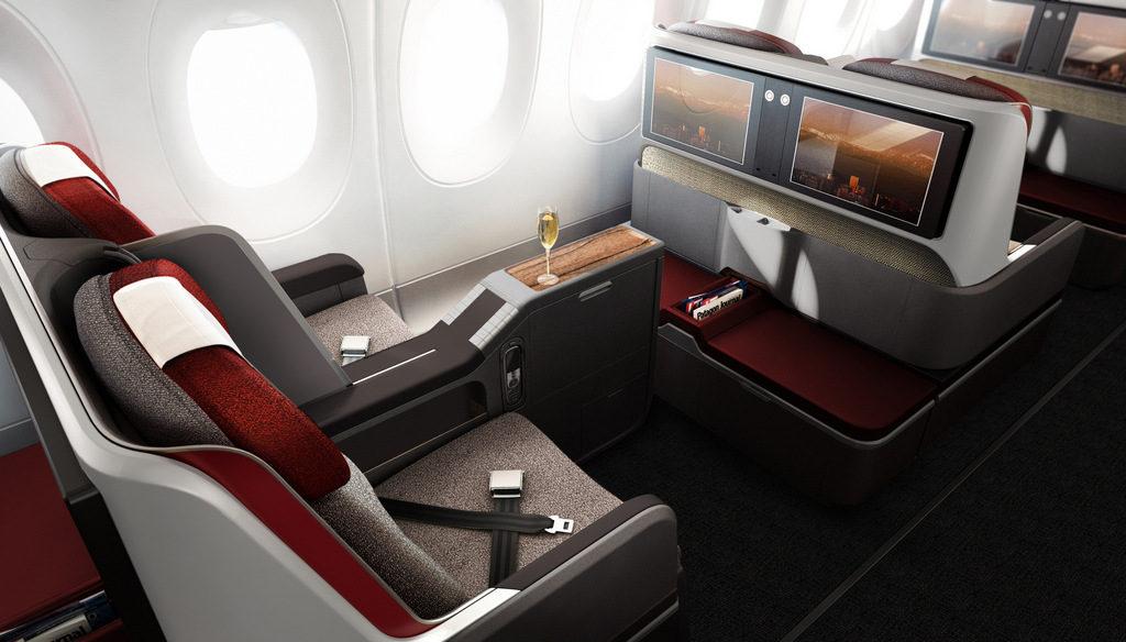 Promoção de passagens da LATAM na Premium Business para Miami e Orlando
