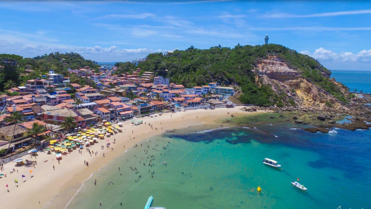 Tarifa de entrada na ilha Morro de São Paulo de R$ 15 começa a ser cobrada no dia 1º de novembro