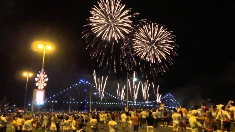 Queima de fogos em Florianópolis terá 12 minutos de duração