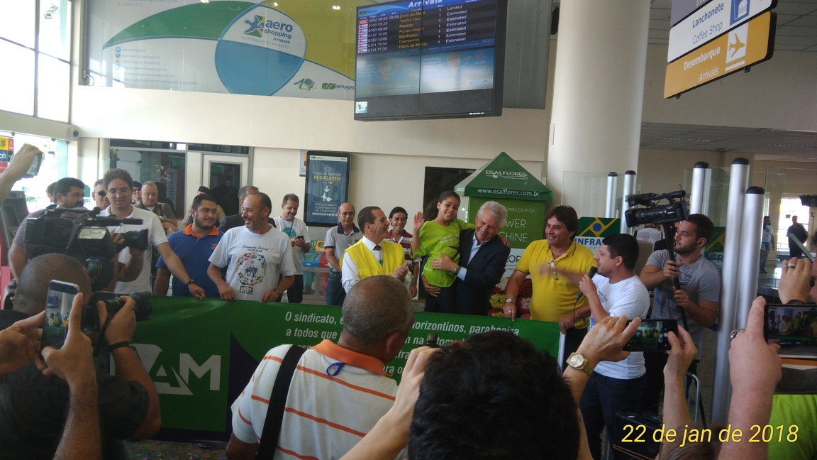 aeroporto Pampulha Presidente Infraero