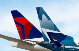 Delta anuncia acordo transfronteiriço com empresa aérea do Canadá