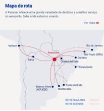Paranair assume operações da Amaszonas Paraguai e planeja voos para o Brasil