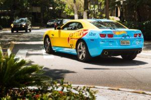 Usuários da UBER de Belo Horizonte poderão embarcar no Hot Wheels em tamanho real