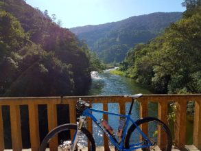 Reserva privada de Mata Atlântica no interior de SP promove passeio de bike