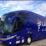 Confira os horários e regras para o uso do ônibus gratuito da LATAM entre Guarulhos e Congonhas
