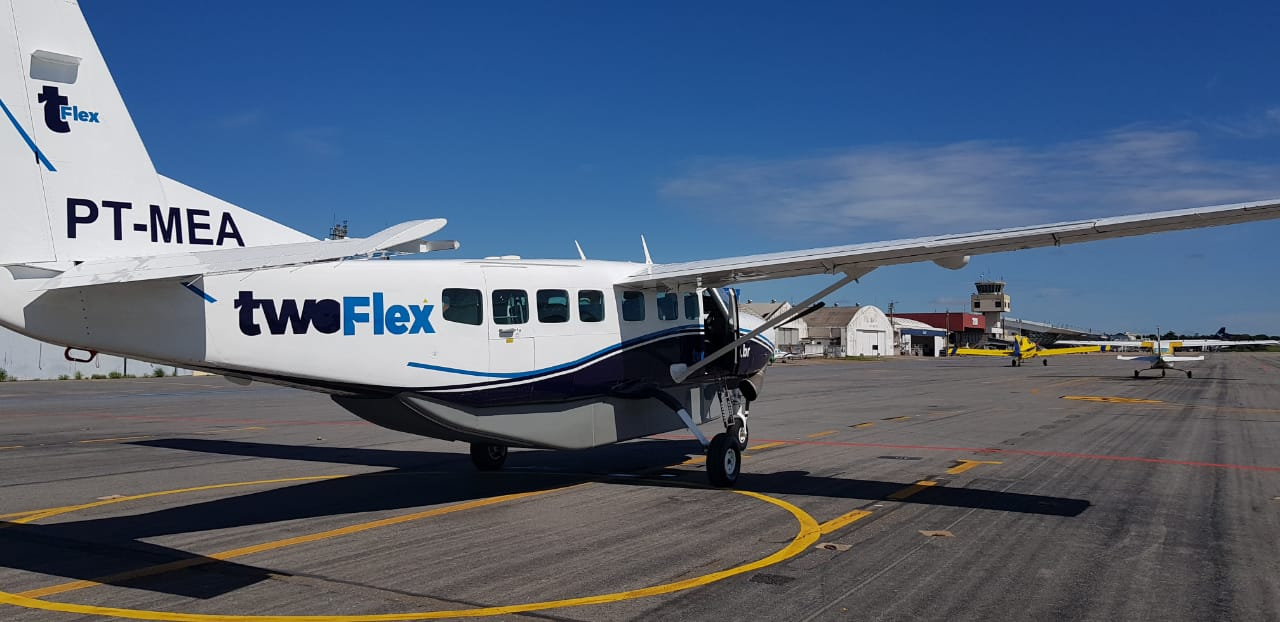 TwoFlex fará voos regulares na ponte aérea Congonhas - Barra da Tijuca