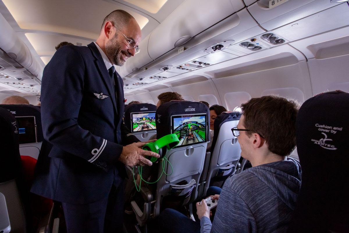 A Air France lança uma aeronave equipada com tecnologia Li-Fi
