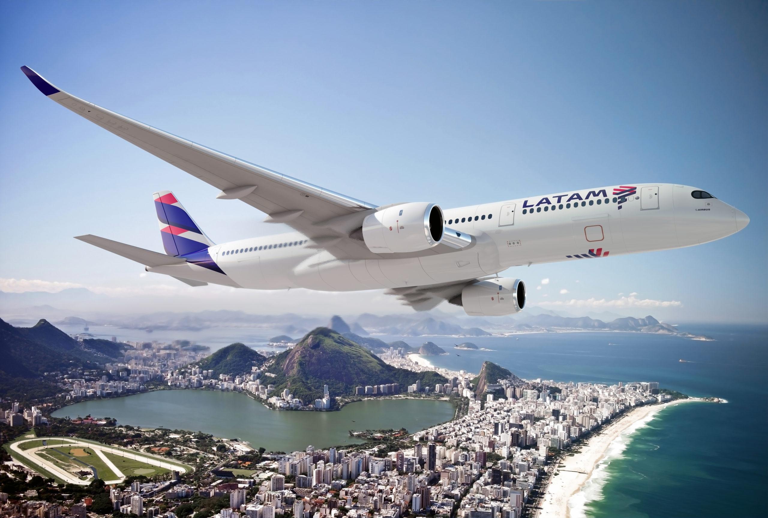 LATAM passa a usar o Airbus A350 nos voos de São Paulo para Lisboa