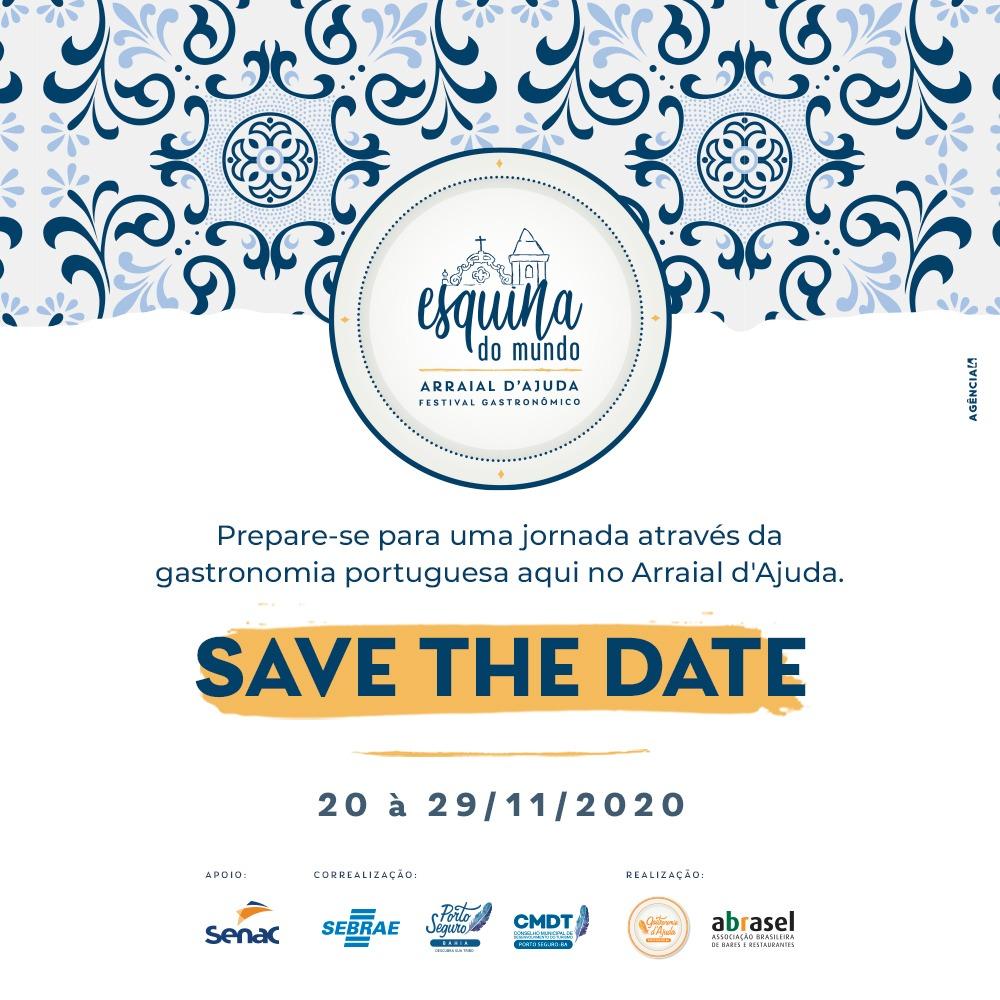 Primeiros eventos da Retomada de Porto Seguro contemplam Gastronomia e Cinema