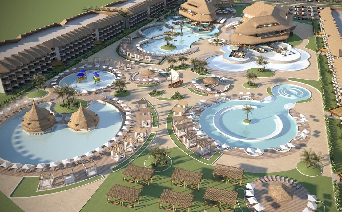 Conheça o projeto do parque aquático e do resort da Praia de Carneiros