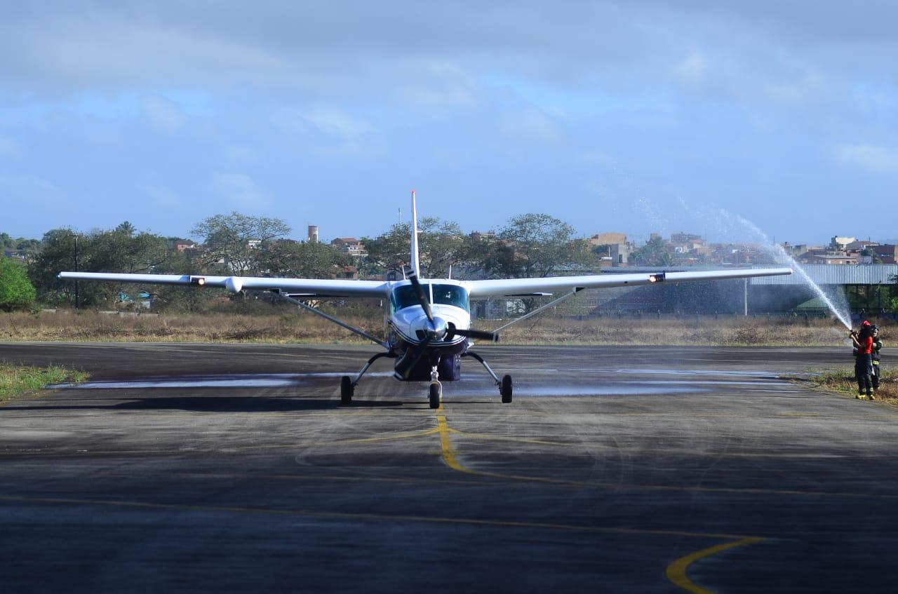 Veja como foi o 1° voo da Azul Conecta em duas cidades de Pernambuco