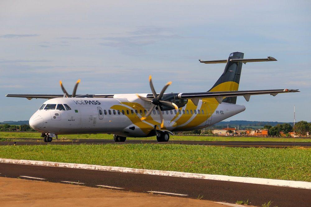 Aeronaves da VoePass irão operar voos da Gol em Juiz de Fora, Presidente Prudente e Joinville