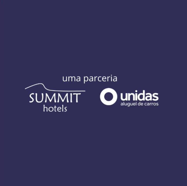 Parceria entre Summit Hotels e Unidas garante descontos em hospedagem e no aluguel de carro