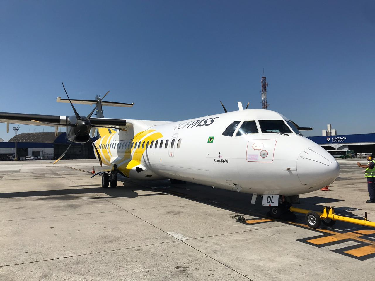 Agravamento da pandemia obriga a VoePass a suspender voos de Uberlândia, Foz do Iguaçu e Ponta Grossa