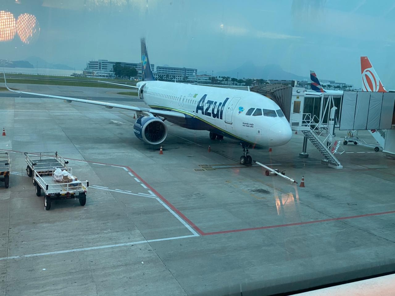 Embarque 100% digital é testado no Aeroporto Santos Dumont