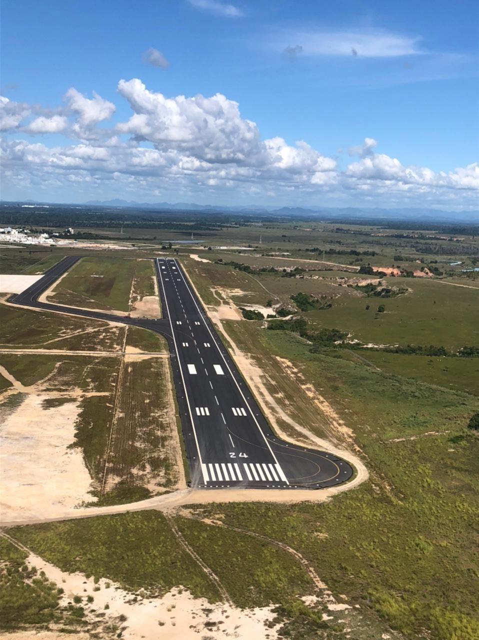 Aeroporto de Linhares está pronto para receber aeronaves de grande porte