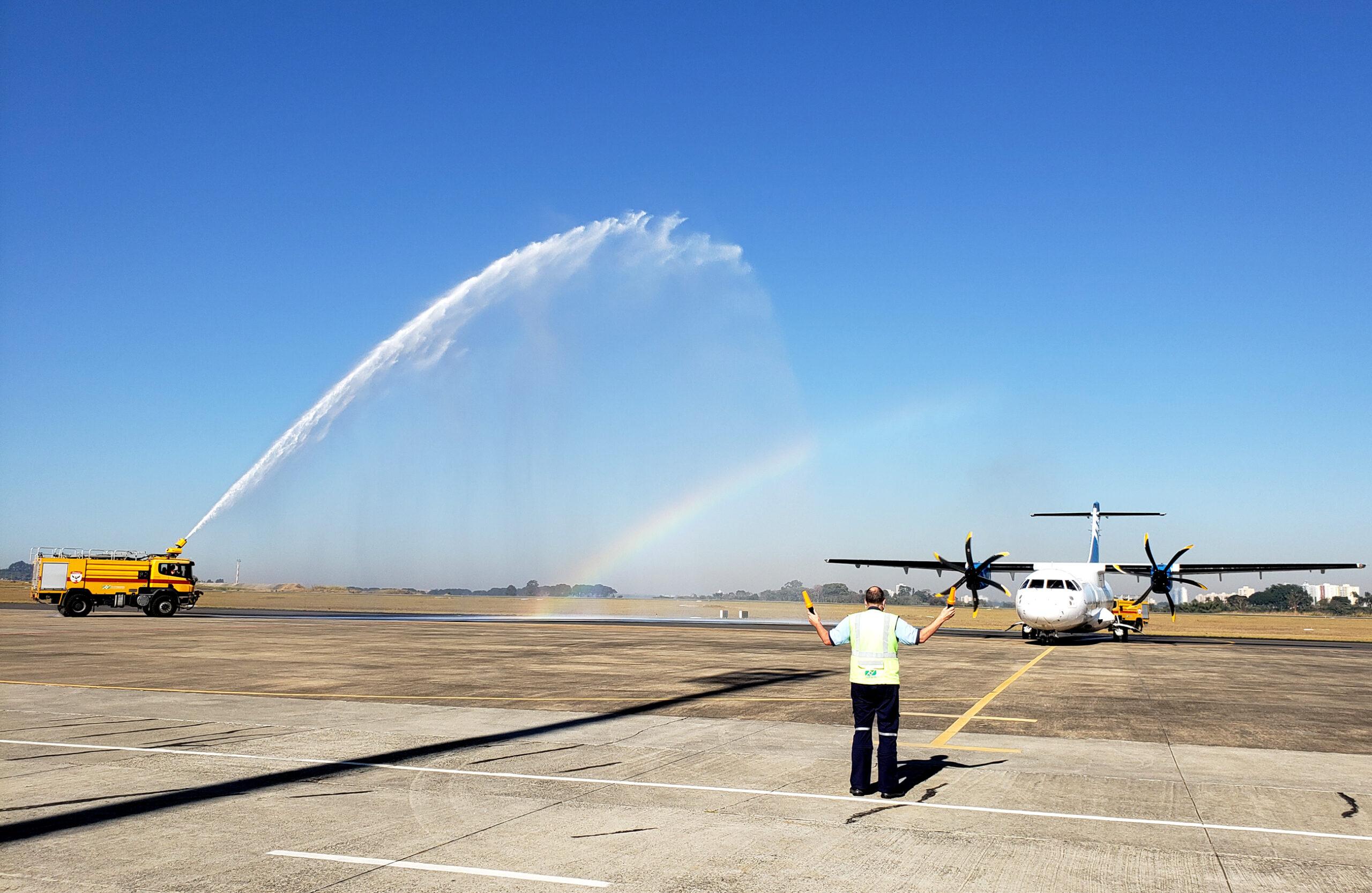 São José dos Campos recebe voo inaugural focado no Turismo Religioso