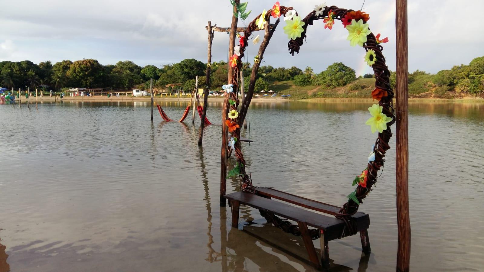Lagoas e praias com piscinas naturais em Nísia Floresta