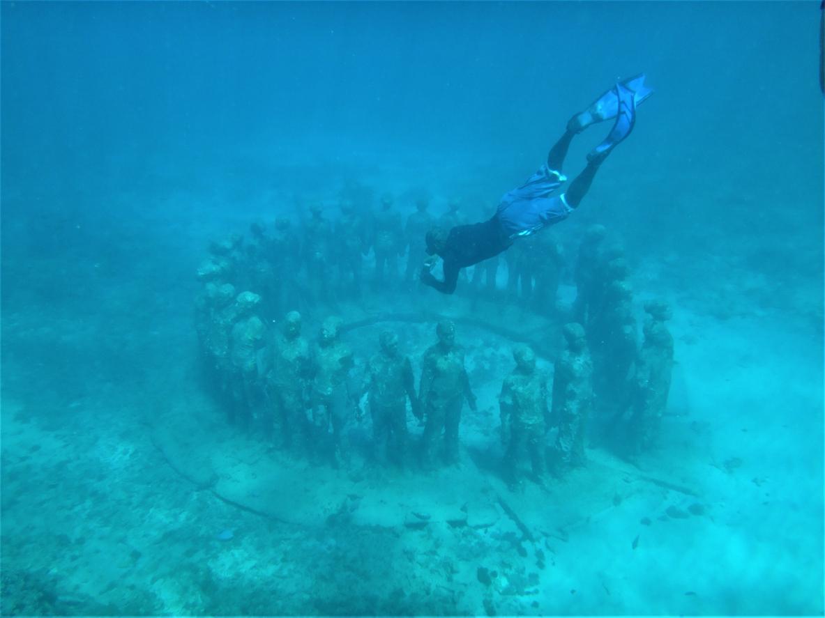 Mergulho com arte: 8 museus subaquáticos pelo mundo