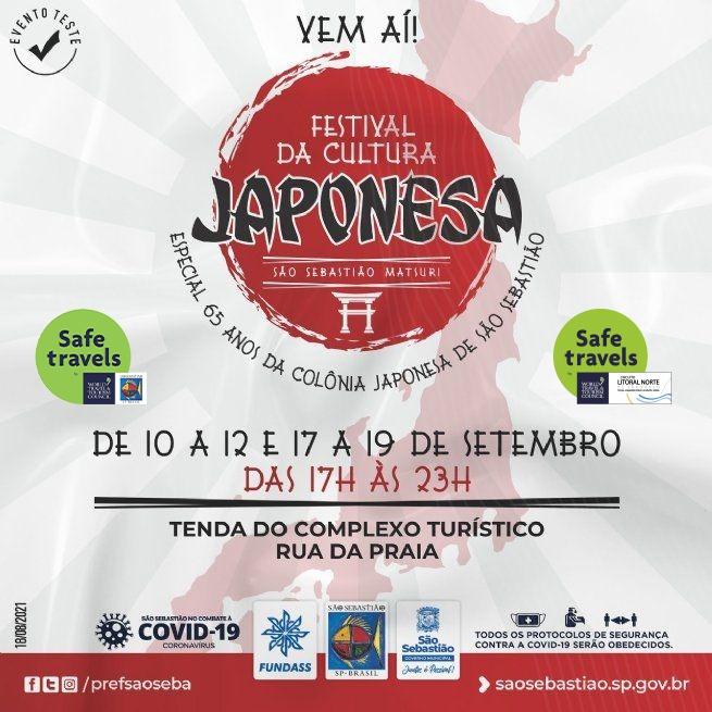 Festival da Cultura Japonesa – São Sebastião Matsuri começa nesta sexta-feira (10)