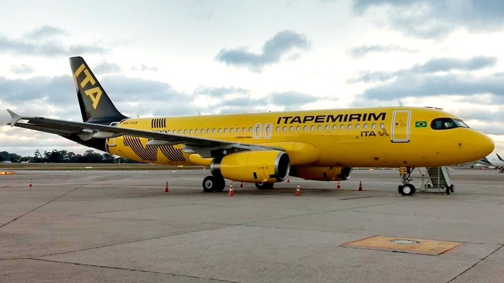 Itapemirim Transportes Aéreos começa a operar com sua quinta aeronave