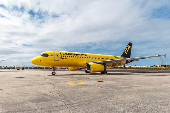 Itapemirim divulga mais dois novos voos para os próximos meses